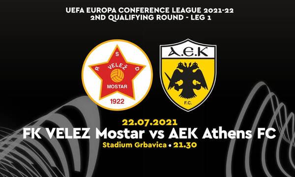 Βελέζ-ΑΕΚ: Στις 21:30 από το COSMOTE Sport 2HD