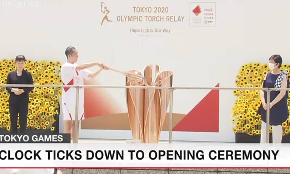 Ολυμπιακοί Αγώνες: Έφτασε η Ολυμπιακή Φλόγα στο Τόκιο! (photos)