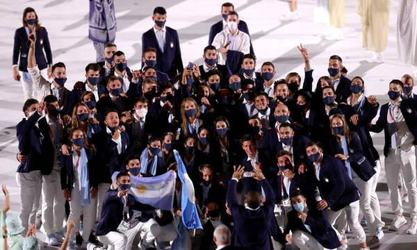 Ολυμπιακοί Αγώνες: Οι Αργεντινοί έκαναν την πιο τρελή… είσοδο στο Στάδιο (video)