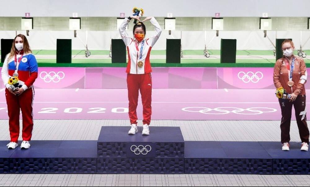 Ολυμπιακοί Αγώνες: Το πρώτο χρυσό μετάλλιο των Αγώνων από την Κινέζα Γιανγκ Κιαν (photo)