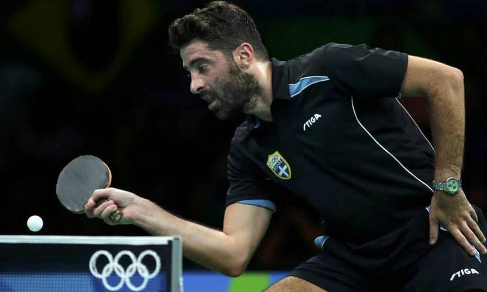Ολυμπιακοί Αγώνες – Πινγκ πονγκ: Επιβλητική πρόκριση του Γκιώνη