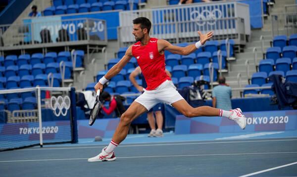 Ολυμπιακοί Αγώνες-Τένις: Με το… δεξί ο Νόβακ Τζόκοβιτς στο Τόκιο