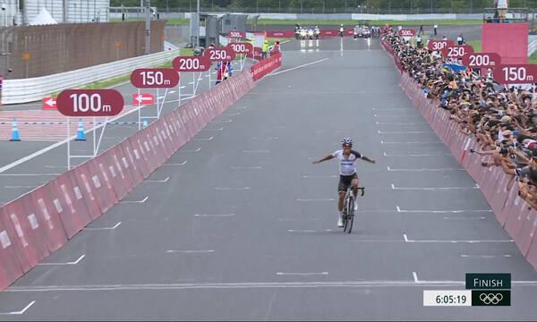 Ολυμπιακοί Αγώνες - Ποδηλασία δρόμου: Νικητής ο Καραπάζ από τον Ισημερινό, 63ος ο Τζωρτζάκης