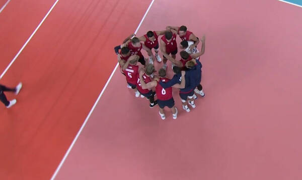 Ολυμπιακοί Αγώνες: Περίπατο οι ΗΠΑ με Γαλλία - Το πανόραμα στο βόλεϊ Ανδρών (videos)