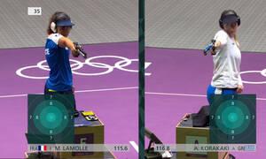 Ολυμπιακοί Αγώνες – Σκοποβολή: Έκτη η Κορακάκη στα 10μ. αεροβόλο πιστόλι