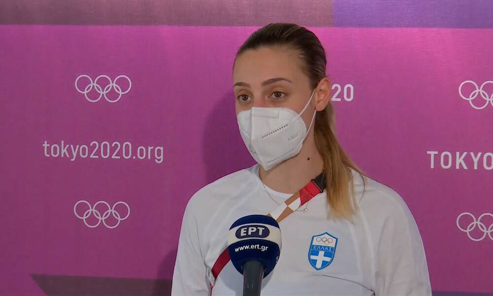 Ολυμπιακοί Αγώνες-Κορακάκη: «Είμαι χαρούμενη και περήφανη» (Video)