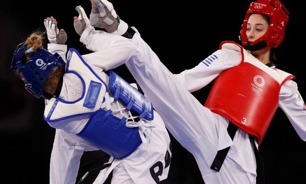 Ολυμπιακοί Αγώνες-Ταεκβοντό: Με στόχο το χάλκινο μετάλλιο, συνεχίζει στα ρεπεσάζ η Τζέλη