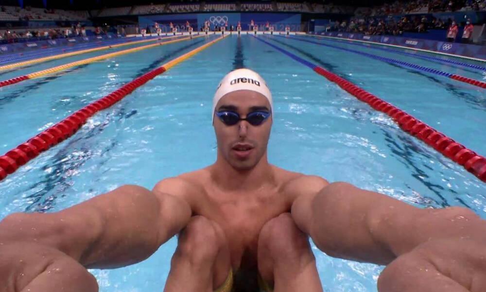 Ολυμπιακοί Αγώνες-Κολύμβηση: Τα κατάφερε και πέρασε στα ημιτελικά ο Χρήστου (video)