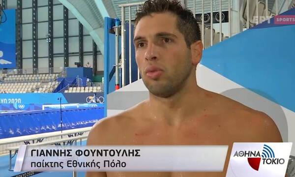 Ολυμπιακοί Αγώνες-Φουντούλης: «Μπορούμε να κερδίσουμε κάθε ομάδα»! (video)