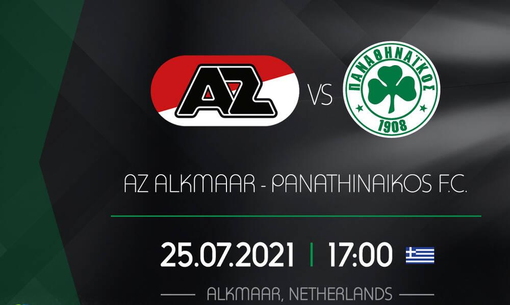 Live streaming Άλκμααρ-Παναθηναϊκός