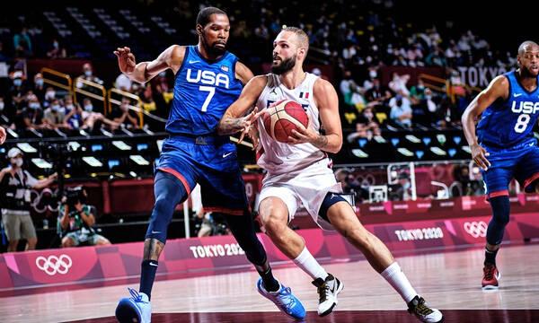 Ολυμπιακοί Αγώνες - Μπάσκετ ανδρών: «Σφαλιάρα» της Team USA από την Γαλλία