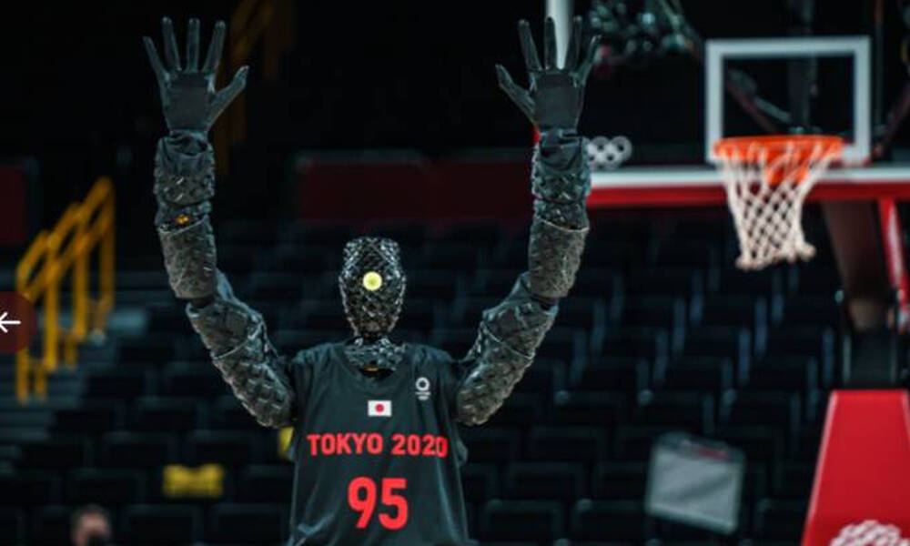 Ολυμπιακοί Αγώνες: Ο... bomber Mr. Robot του Τόκιο (photos)