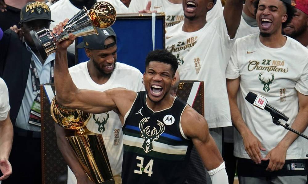 NBA: Τα highlights του MVP των τελικών, Γιάννη Αντετοκούνμπο (video)