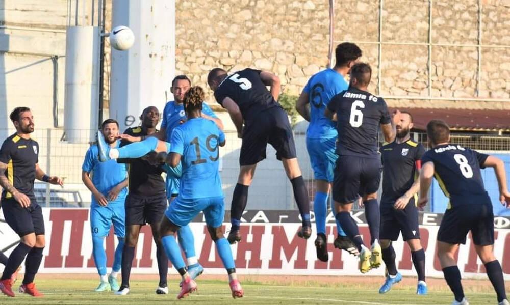 Λαμία: Φιλική ισοπαλία 2-2 με τον Εθνικό Άχνας