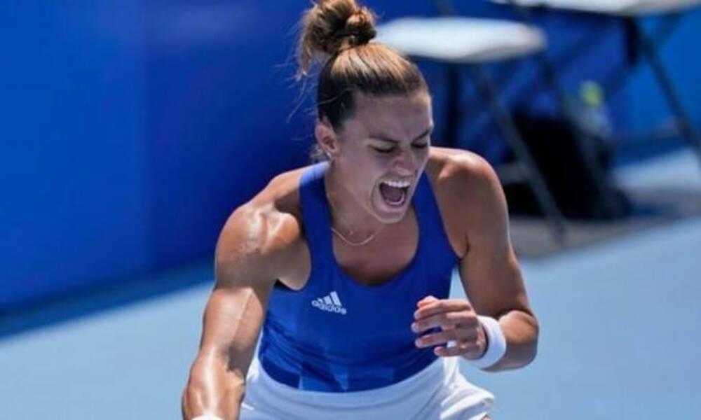 Ολυμπιακοί Αγώνες-Τένις: Τα highlights της πρόκρισης της Μαρίας Σάκκαρη (video+photos)