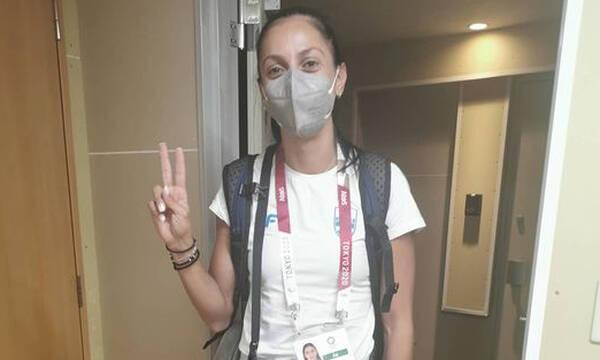 Ολυμπιακοί Αγώνες: «Πάτησε» Ολυμπιακό Χωριό η Ελισάβετ Πεσιρίδου