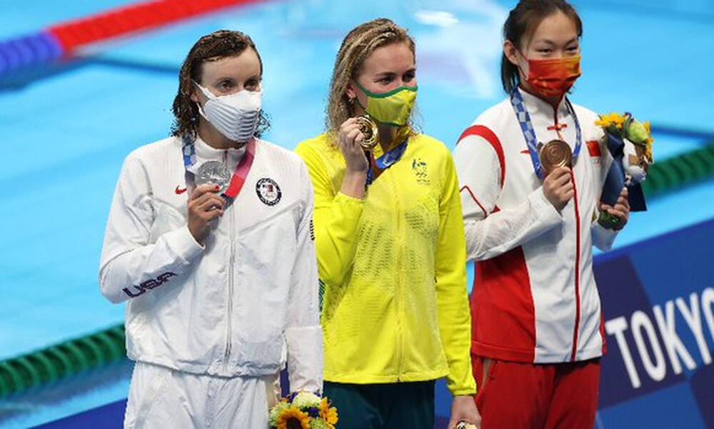 Ολυμπιακοί Αγώνες: Νικήτρια η Τίτμους, ξέφρενος χορός του προπονητή της (video+photos)