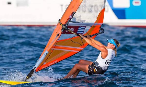 Ολυμπιακοί Αγώνες- Ιστιοπλοΐα: Στην 21η θέση της γενικής κατάταξης στα RS:X η Δίβαρη