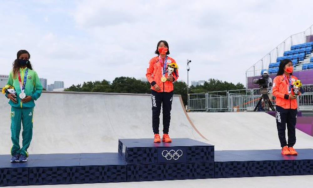 Ολυμπιακοί Αγώνες- Σκέιτμπονρτ: Η Νισίγια η νεότερη αθλήτρια που κατακτά χρυσό μετάλλιο(video)