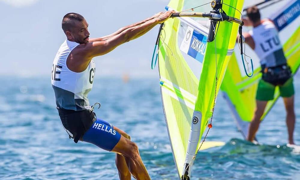 Ολυμπιακοί Αγώνες: Ο Κοκκαλάνης στην 13η θέση της γενικής κατάταξης στα RS:X