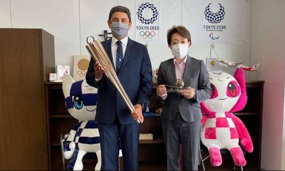 Ολυμπιακοί Αγώνες: Συναντήσεις του Αυγενάκη, με Γουανιμπούσι και Σέικο Χασιμότο (photos)