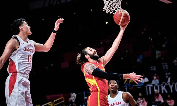 Ολυμπιακοί Αγώνες - Μπάσκετ Ανδρών: «Ισοπέδωσε» τους Ιάπωνες η Ισπανία με τον Ρούμπιο(photos&videos)