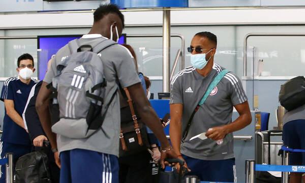 Νέφτσι-Ολυμπιακός: «Πέταξε» για Μπακού με Ελ Αραμπί - Πολλά προβλήματα για Μαρτίνς (photos)