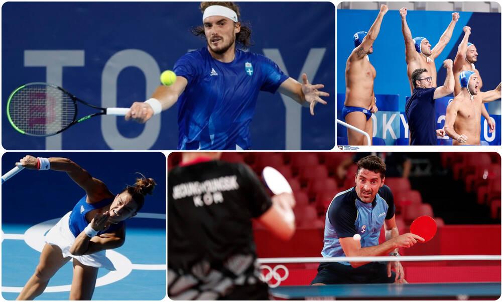 Ολυμπιακοί Αγώνες: Ο απολογισμός των Ελλήνων της ημέρας (27/07)