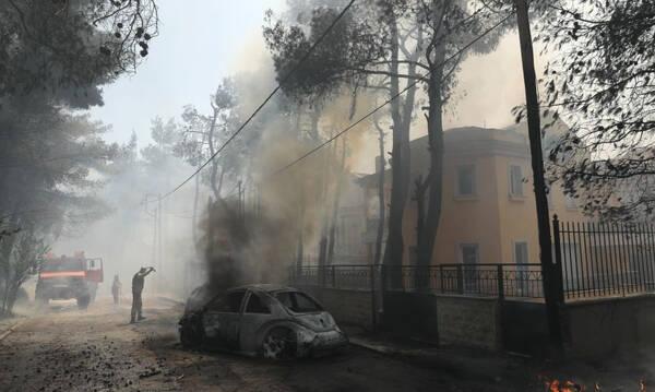 Φωτιά στη Σταμάτα: Συνελήφθη μελισσοκόμος