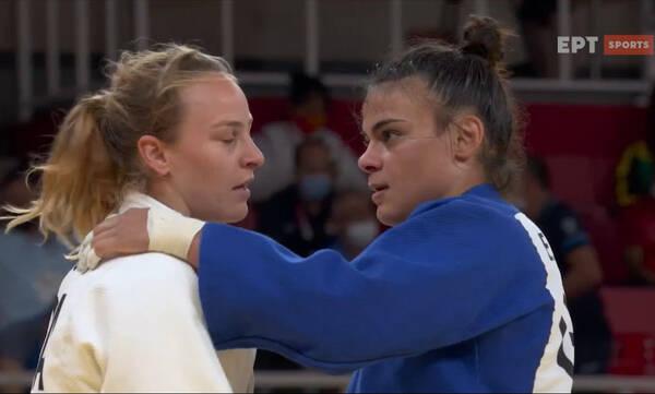 Ολυμπιακοί Αγώνες-Τζούντο: Στα προημιτελικά η Τελστίδου - Πέταξε εκτός Πρωταθλήτρια Ευρώπης (video)