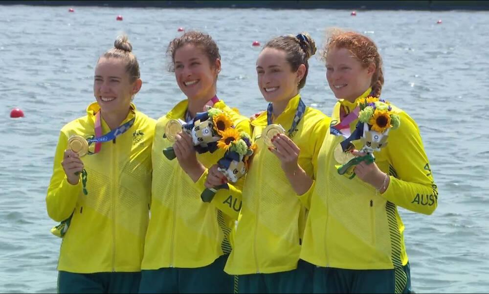 Ολυμπιακοί Αγώνες: Διπλό χρυσό σε άνδρες και γυναίκες για Αυστραλία στην τετράκωπο