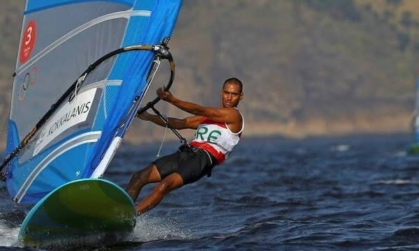 Ολυμπιακοί Αγώνες- Ιστιοπλοΐα: Παραμένει 13ος στα RS:X ο Κοκκαλάνης