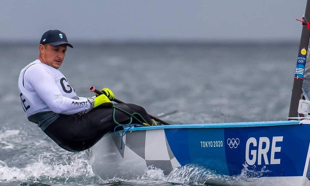 Ολυμπιακοί Αγώνες-Ιστιοπλοΐα: Στη 10η θέση της γενικής κατάταξης ο Μιτάκης