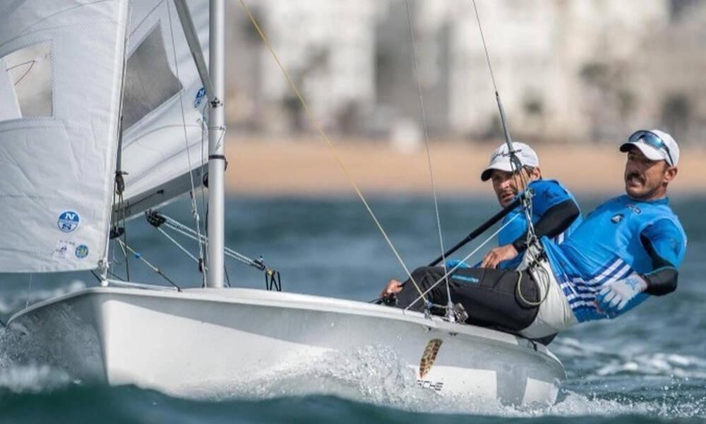 Ολυμπιακοί Αγώνες-Ιστιοπλοΐα: Ανέβηκαν 7οι στη γενική κατάταξη οι Μάντης-Καγιαλής