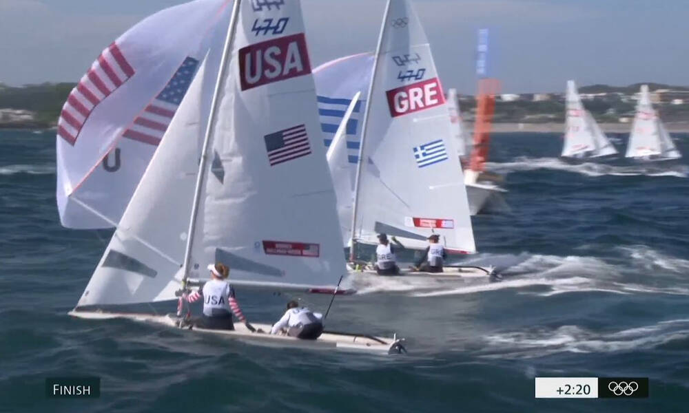 Ολυμπιακοί Αγώνες-Ιστιοπλοΐα: Στην 13η θέση οι Τσουλφά και Σπανάκη (video)
