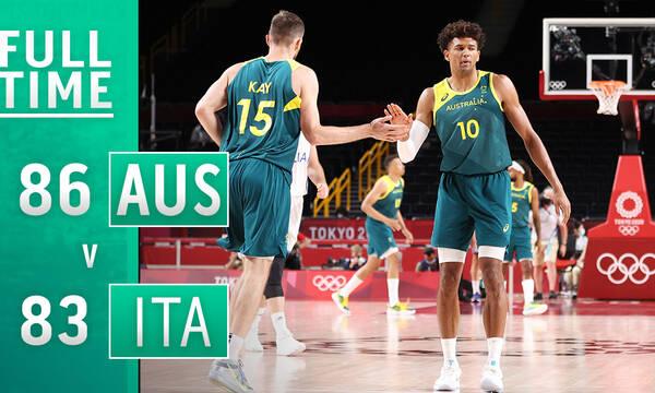 Ολυμπιακοί Αγώνες - Μπάσκετ: «Δύο στα δύο» για την Αυστραλία (photos&video)