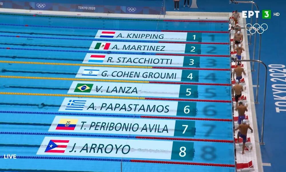 Ολυμπιακοί Αγώνες- Κολύμβηση: Εκτός ημιτελικών Βαζαίος και Παπαστάμος (video)