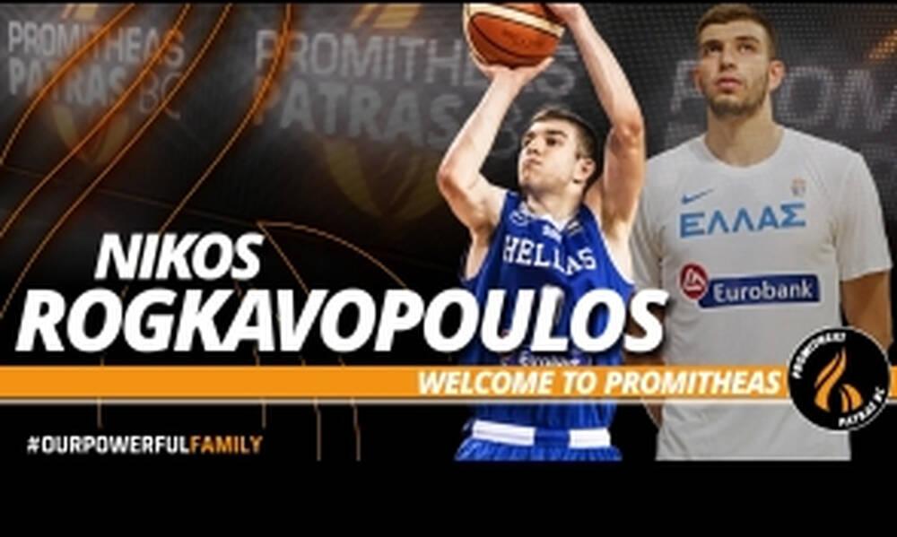 Επιβεβαίωση OnSports: Και επίσημα στον Προμηθέα ο Ρογκαβόπουλος (photos)
