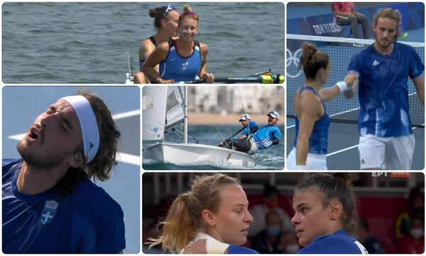 Ολυμπιακοί Αγώνες: Ο απολογισμός των Ελλήνων της ημέρας (28/07)