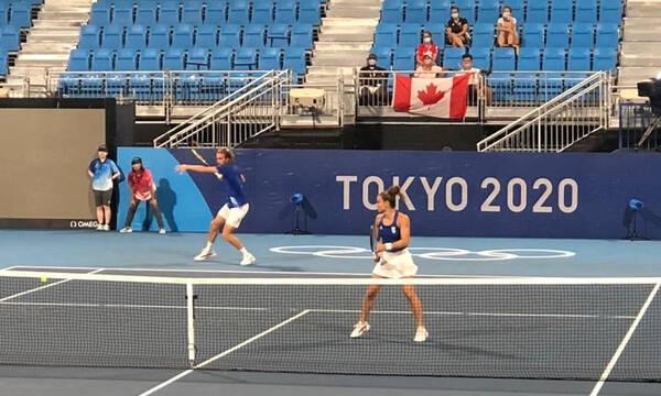 Ολυμπιακοί Αγώνες-Tσιτσιπάς-Σάκκαρη: «Είναι πολύ τιμητικό που παίζουμε για τη χώρα μας»