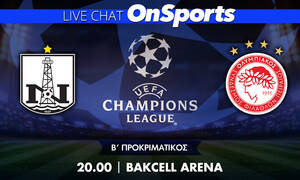 Live Chat Νέφτσι Μπακού-Ολυμπιακός 0-1