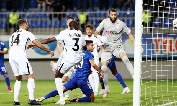 Νέφτσι Μπακού-Ολυμπιακός: Γκολ πρόκρισης με κούρσα-έκπληξη και αδράνεια των Αζέρων (video)
