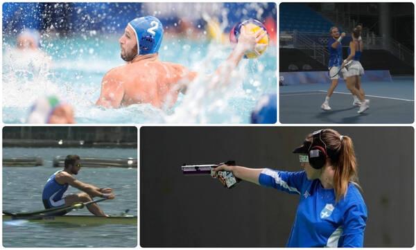 Ολυμπιακοί Αγώνες: Ο απολογισμός των Ελλήνων της ημέρας (29/07)
