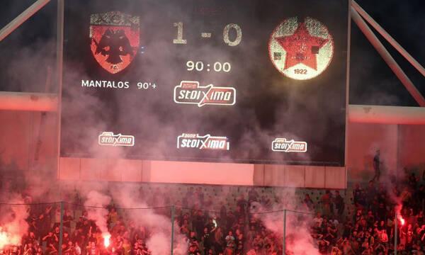 ΑΕΚ-Βελέζ: Το «κάρφωσε» στο 98' ο Μάνταλος και... πήρε φωτιά το ΟΑΚΑ - Ήρωας Αλμπάνης (video)
