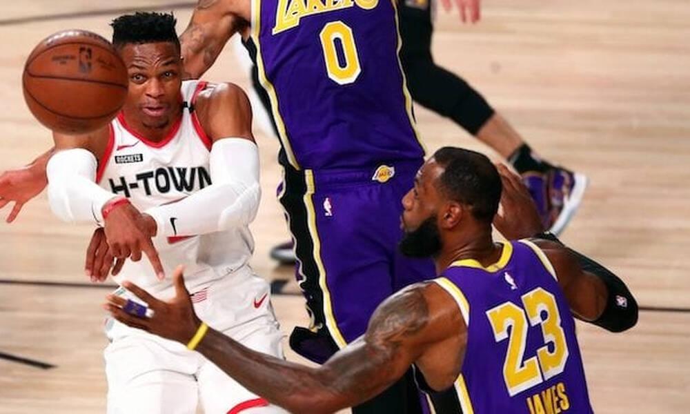 «Βόμβες» στο NBA - Προς Λέικερς ο Ουέστμπρουκ, στους Καβαλίερς ο Ρούμπιο