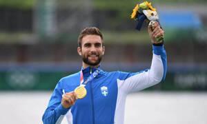 Ολυμπιακοί Αγώνες-Κωπηλασία: Μυθικός Ντούσκος, χρυσό μετάλλιο στο Τόκιο (photos+video)