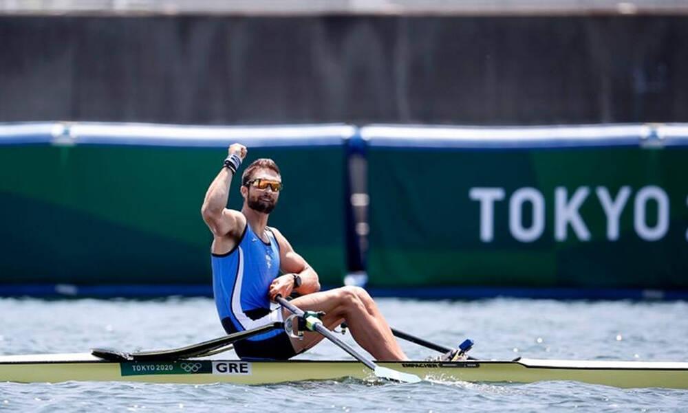 Ολυμπιακοί Αγώνες-Κωπηλασία: «Τρέλα» Ντούσκου - Οι δηλώσεις ευτυχίας μετά τον θρίαμβο (photos+video)