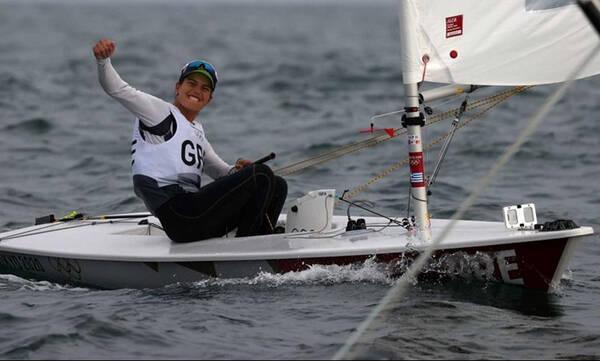 Ολυμπιακοί Αγώνες-Ιστιοπλοΐα: Στην κούρσα των μεταλλίων η Καραχάλιου (video)