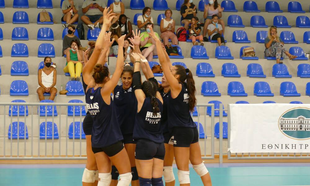 Το 2Χ2 πέτυχε η Εθνική ομάδα βόλεϊ γυναικών επί του Αζερμπαϊτζάν