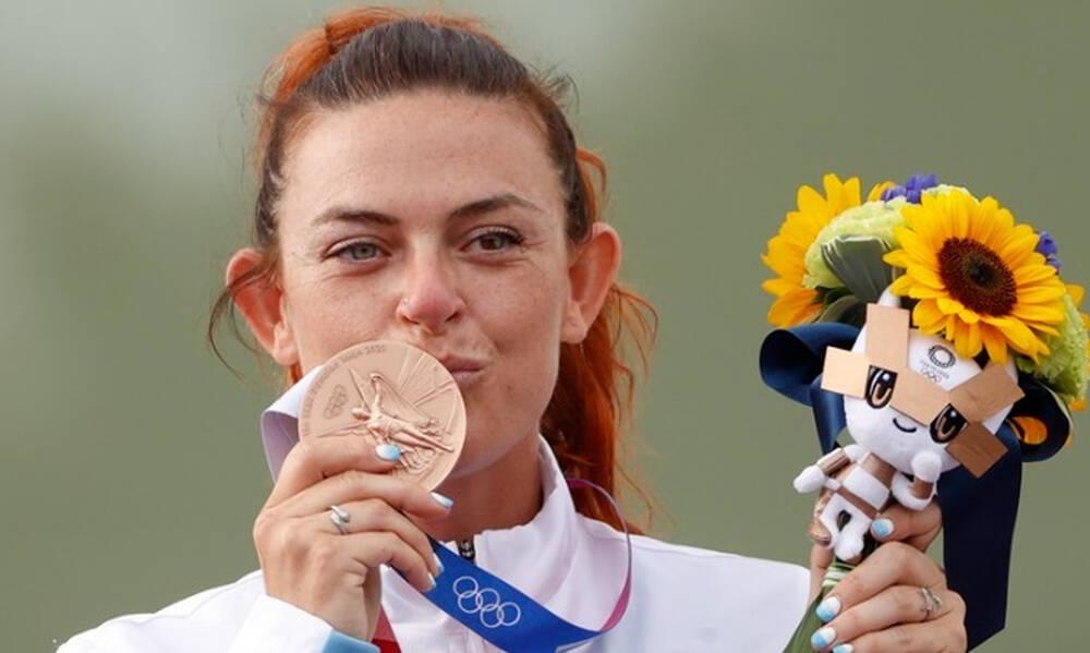 Ολυμπιακοί Αγώνες: Η Αλεσάντρα Περίλι έγραψε... Ιστορία για το Σαν Μαρίνο